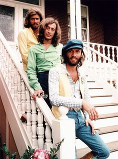 The Bee Gees!!  Aline ♥    Their songs will always be in my heart and soul!