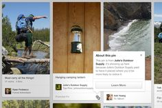 "#Pinterest lance son premier ""Promoted Pin"""