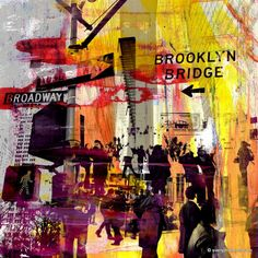 """Saatchi Art Artist Sven Pfrommer; Photography, """"NY DOWNTOWN X - Limited Edition 1 of 25"""" #art"""