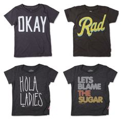 fab kids' tees from Prefresh