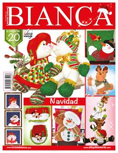 Aleyda Osorio / Publicaciones y Revistas Cross Stitch Books, Wool Felt, Advent Calendar, Quilts, Christmas Ornaments, Holiday Decor, Sewing, Crafts, Diy