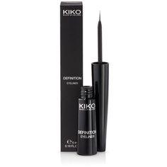 KIKO MAKE UP MILANO: Eyeliner Definition - Eye-liner liquide avec pinceau applicateur