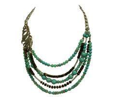 Emerald Leaf Necklace