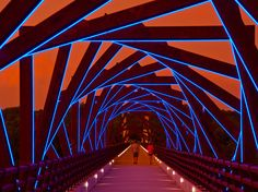 From Here to There: High Trestle Trail Bridge Artistic Elements :: RDG Planning & Design