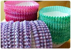DIY Dyed Cupcake Liners – Edible Crafts