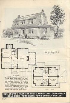 Plans for the home builder : Western Retail Lumberman's Assoc. : Free Download, Borrow, and Streaming : Internet Archive Story House, My House, Farm House, Dutch Colonial, Gambrel, House Layouts, Historic Homes, Home Builders, The Borrowers