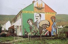 Drawing Support Murals of War and Peace - Republican Mural Belfast Murals, United Kingdom Countries, Northern Ireland Troubles, Middle East Culture, Irish Republican Army, Erin Go Bragh, Irish Eyes, Celtic, History