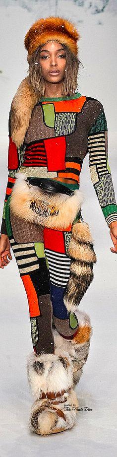 Moschino Fall/Winter 2015-16  ♔THD♔