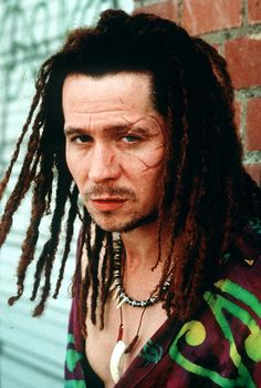 """you musta thought today was white boy day"" Gary Oldman as Drexl in True Romance"