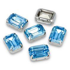 Kamienie ozdobne w metalowym koszyczku do przyszycia. Shine, kamienie, blask, elegancja, połysk, ozdoba, biżuteria 💎💎💎 Rings For Men, Sky, Blue, Jewelry, Heaven, Men Rings, Jewlery, Jewerly, Heavens