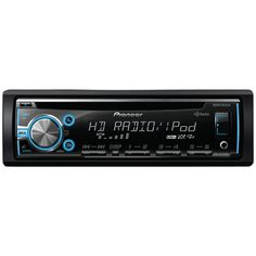 Pioneer Single-din In-dash Cd Receiver With Mixtrax Hd Radio Usb Pandora Ready Android Music Support & Color Customization