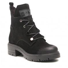 Botki NESSI - 20748 Czarny W - Botki - Kozaki i inne - Damskie | Kolekcja 2021 | eobuwie.pl Fashion Boots, Hiking Boots, Shoes, Zapatos, Shoes Outlet, Shoe, Footwear