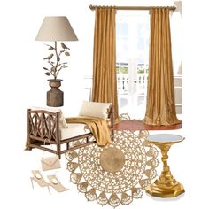 serenity by ronelhe on Polyvore featuring polyvore interior interiors interior design home home decor interior decorating Michael Aram OKA H&M Aquazzura Yves Saint Laurent