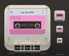 App icon - casette tape