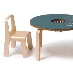 Offi Furniture Woody Chalkboard Table for Kids   2Modern Furniture & Lighting