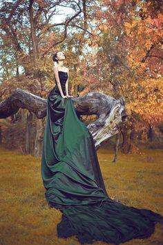 Julia Velikaya Spirit of the autumn forest