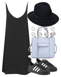 """Untitled #3360"" by plainly-marie ❤ liked on Polyvore featuring Topshop, Rebecca Minkoff, adidas, rag & bone and ASOS"