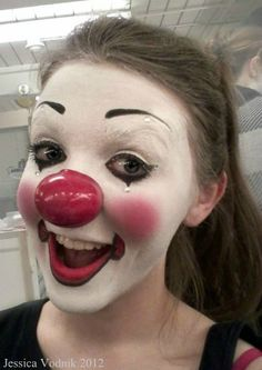 Circus Makeup on Behance