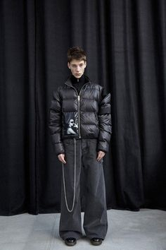 MISBHV presented Fall Winter collection during the New York Fashion Week. High Fashion, Runway Fashion, Mens Fashion, Winter 2017, Fall Winter, Third Gender, Grunge Hair, Who What Wear, Alter