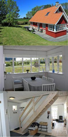 """mittleres Bild: """"um die Ecke"""" verglaster Essbereich"""