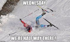 XC Ski Crash Meme Generator - Imgflip