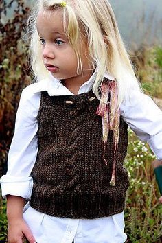 Heathcliff Vest...great for little ones.
