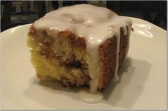 cinnamon roll cake...absolutely delicious (AT 10.15.14)