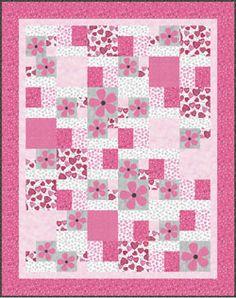 Clothworks Sue Zipkin Hugs Me Quilt Kit 68x86