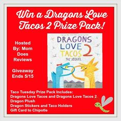 Dragons Love Tacos Is More Fun With Toys, Stickers & Gift Card #HeartThis
