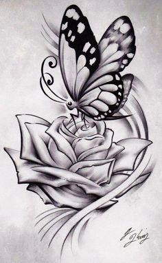 ... Ideas Rose Drawing Tattoos Beautiful Tattoo Pencil Drawing Flower