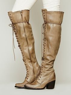 Free People James Lace Up Boot, $398.00