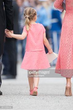Princess Estelle attend the christening of Prince Alexander of Sweden at Drottningholm Palace Chapel on September 9 2016 in Stockholm Sweden