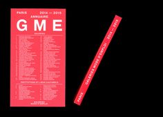 L'annuaire de Galeries Mode d'Emploi regroupe 64 galeries et 17 institutions et lieux culturels. Les doubles pages de présentation des galeries ont été réalisées grâce à un procédé de mise en page automatisé relié à un formulaire en ligne.  Con...