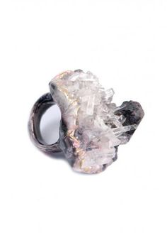 Adina Mills Arkansas Quartz Ring