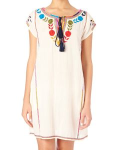 Image of STAR MELA Lani Floral Embroidery Dress