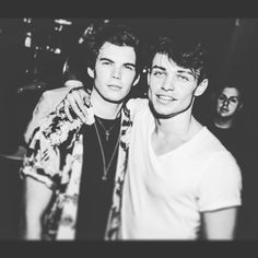 Luke and Thomas