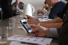 Studie af video på smartphone via qr-kode