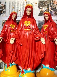 'Blasphemous' Brazilian artist under fire for turning religious figures into pop culture icons   Dangerous Minds