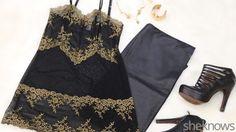 Glitter, Black and Gold