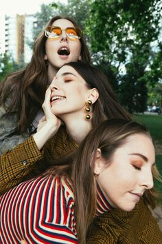 HAIM by Phil Smithies for DIY Magazine, July 2017