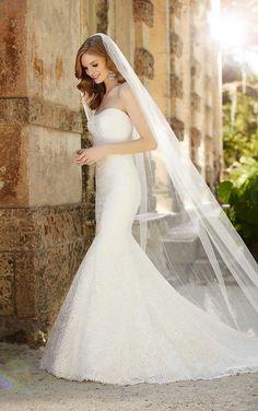 697 Scoop Neckline Wedding Dress by Martina Liana