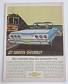 1963 Chevrolet With A Chevy Impala Convertible