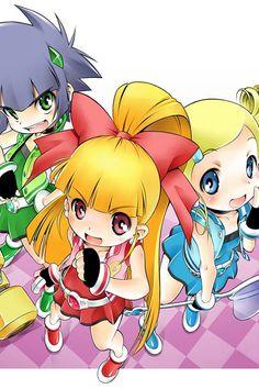 Power puff girls (anime)
