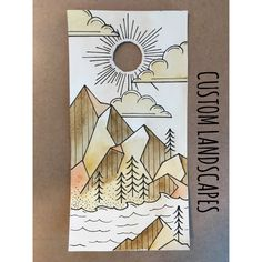 custom corn+hole design by WesternSkyWoodWorks on Etsy https://www.etsy.com/listing/294112339/custom-cornhole-design