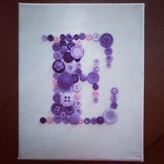 #DIY #button #art for the #nursery #madfordoodads #decor #baby