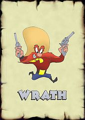 Produced by Warner Brothers Yosemite Sam is the curmudgeonly cowboy with a passionate hatred of Bugs Bunny. He is another in a long cast of memorable characters that appears in the Merrie Melodies and Looney Tunes cartoon series. Created by Friz. Looney Tunes Characters, Classic Cartoon Characters, Looney Tunes Cartoons, Cartoon Tv, Classic Cartoons, Old School Cartoons, Old Cartoons, Black Panther Cat, Tv Funny