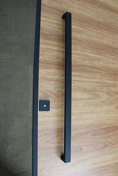 Matte Black Entry Pull Set   Long Is A Complete Set Of Door Hardware  (hinges Not Icluded) For Contemporary Entry Doors Such As Pivot Doors.