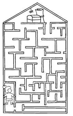Free Simple Maze Printables For Preschoolers And Kindergartners - Tulamama Mazes For Kids, Flashcards For Kids, Printable Mazes, Printables, Color Activities, Preschool Activities, Maze Worksheet, Maze Puzzles, Fun Illustration