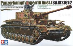 Tamiya Panzerkampfwagen IV   Hobbies 1/35th Scale Highly Accurate Static Display model Completely Reproduced Exterior Long Barrel 75mm Gun with loading Breech Detailed Flexible Tracks Includes lifelike crew figure