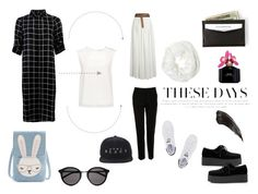 """""""#wowow"""" by sekargupita on Polyvore featuring Finders Keepers, Yves Saint Laurent, Dolce&Gabbana, adidas Originals, Betsey Johnson, Marc Jacobs and months"""